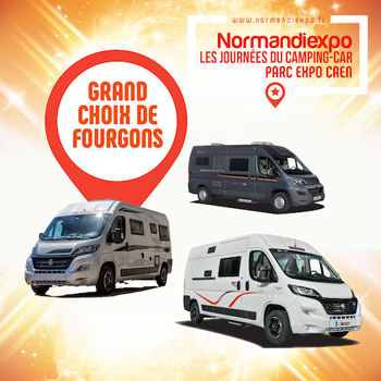 normandiexpo grand choix de fourgon caen 2018