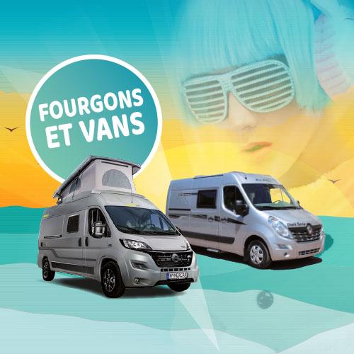 Fourgons et vans neufs et d'occasion